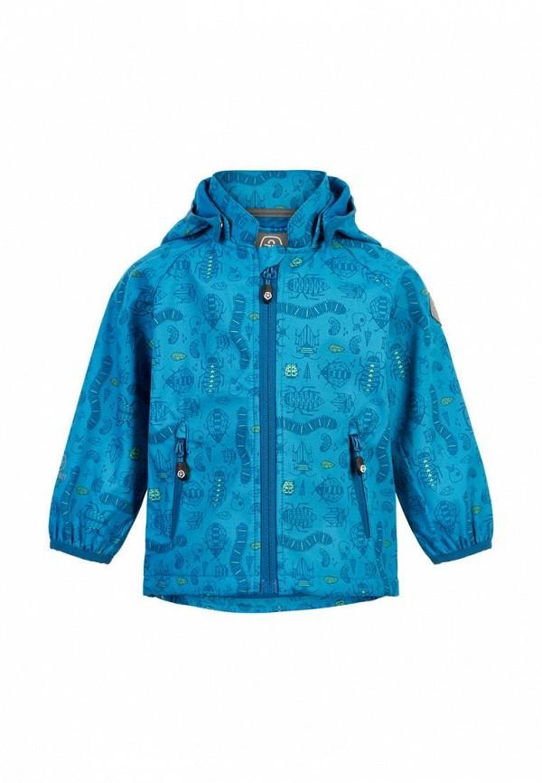 ветровка color kids для мальчика, синяя