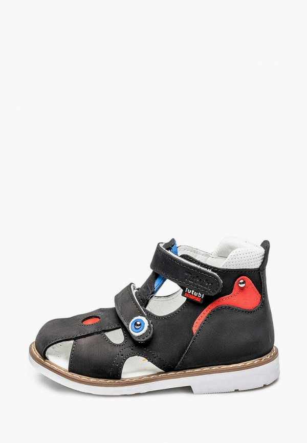 сандалии tutubi для мальчика, черные