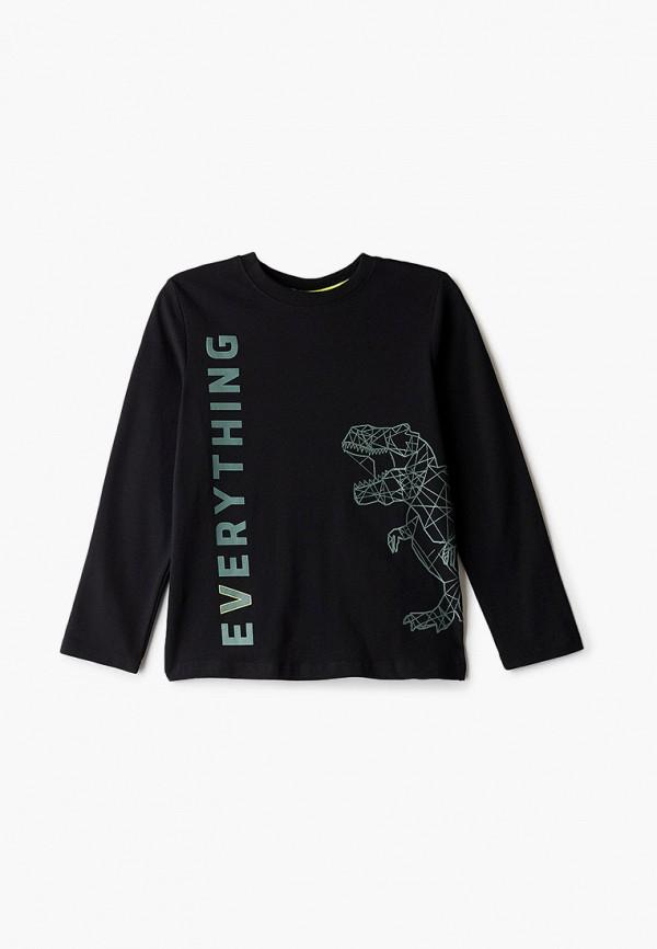 футболка coccodrillo для мальчика, черная