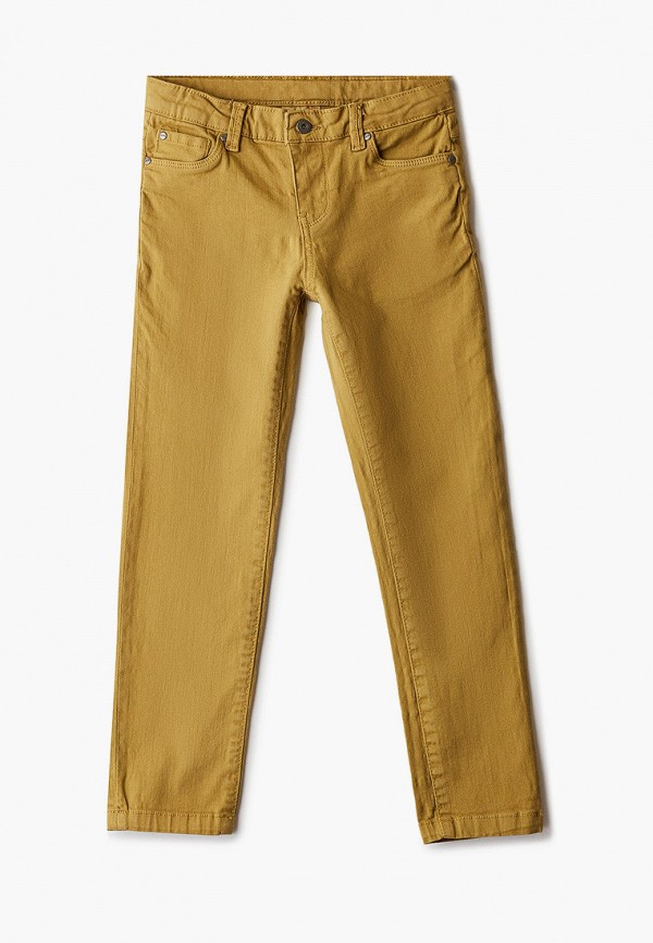 брюки coccodrillo для мальчика, желтые