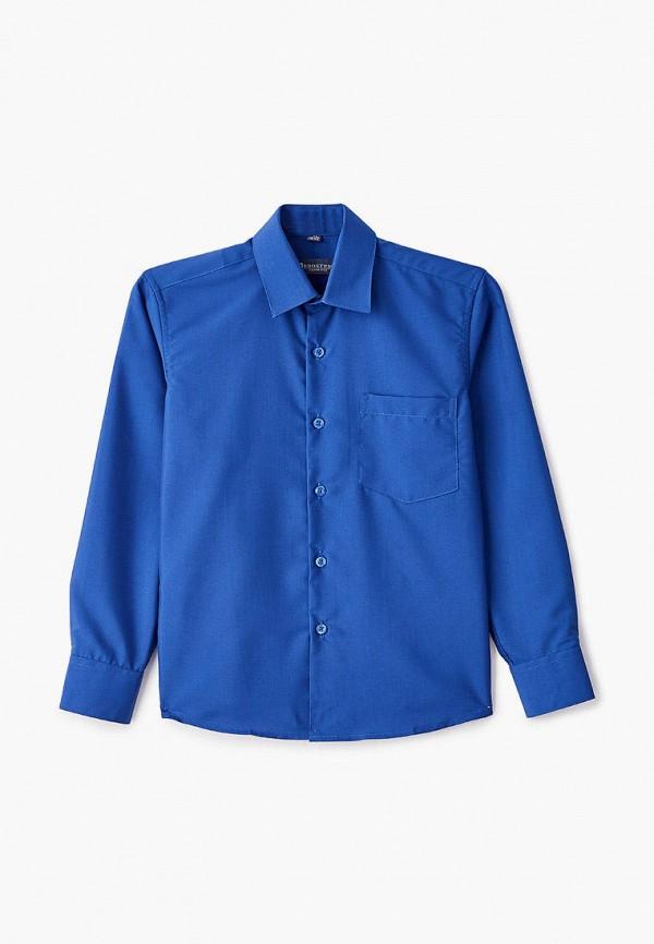 рубашка brostem для мальчика, синяя