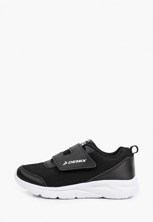 кроссовки demix для мальчика, черные