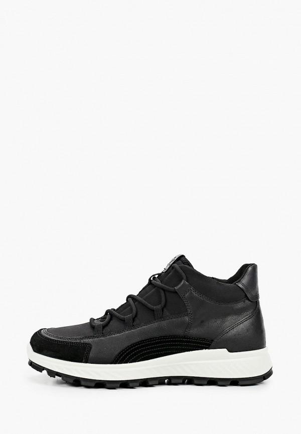 Кроссовки для мальчика Ecco цвет черный