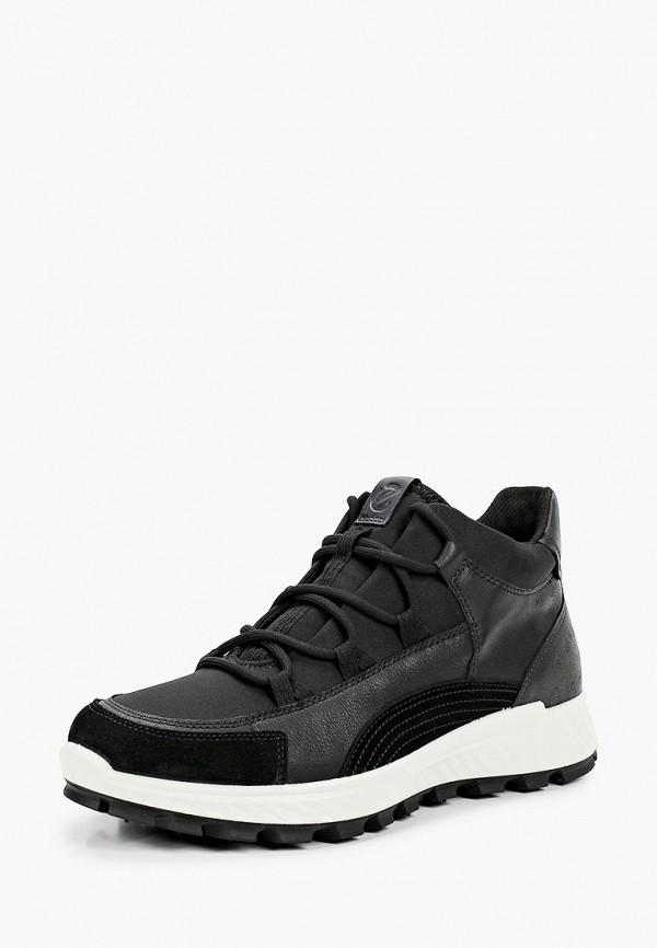 Кроссовки для мальчика Ecco цвет черный  Фото 2