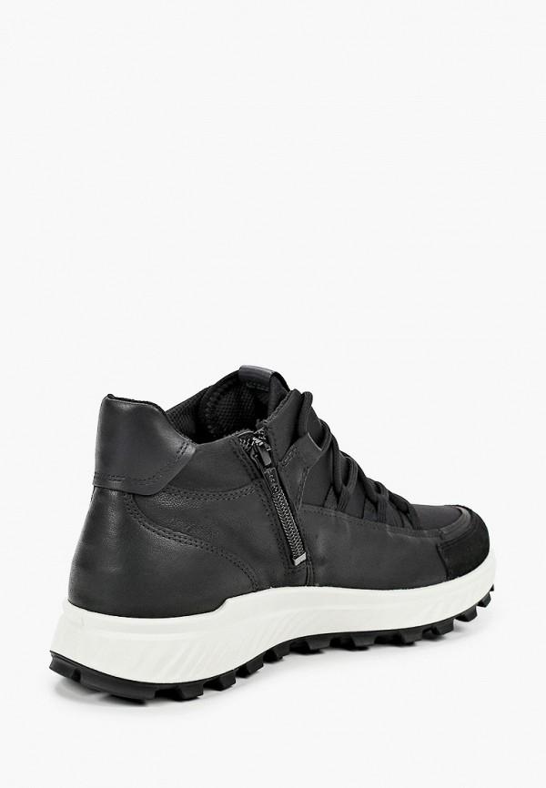 Кроссовки для мальчика Ecco цвет черный  Фото 3