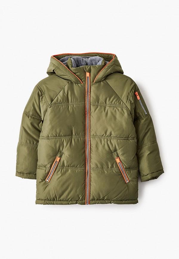 утепленные куртка acoola для мальчика, хаки