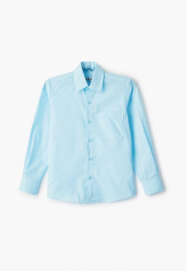 рубашка brostem для мальчика, бирюзовая