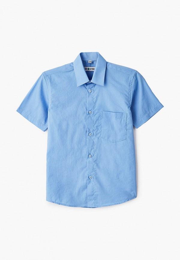 рубашка brostem для мальчика, голубая