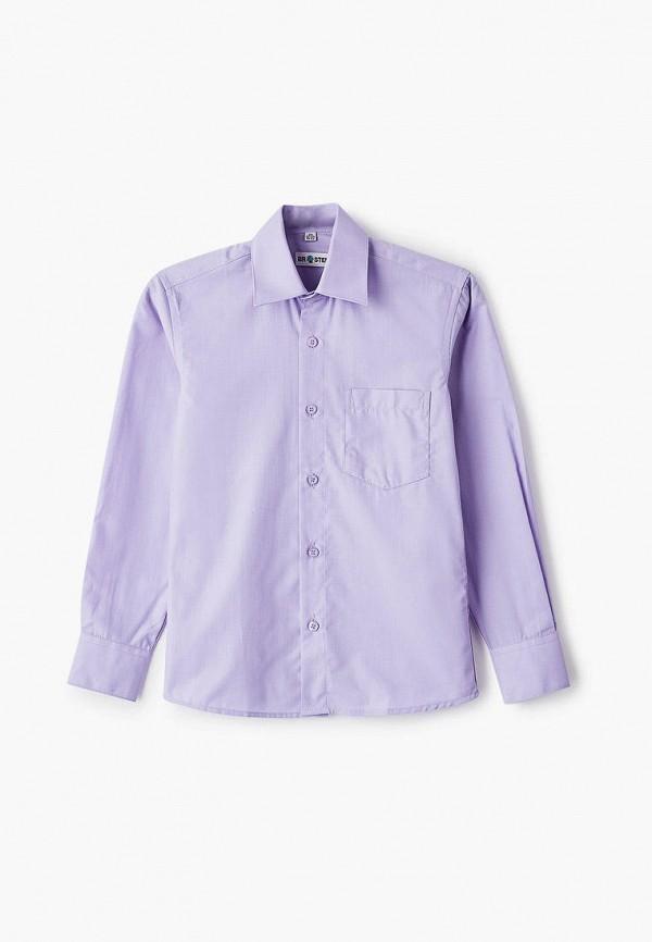 рубашка brostem для мальчика, фиолетовая
