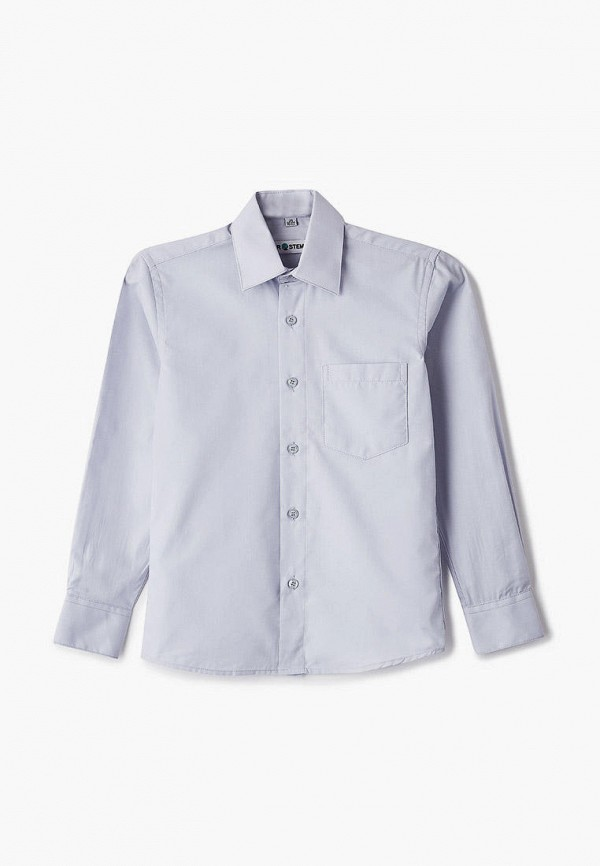 рубашка brostem для мальчика, серая