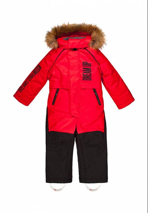 Детский комбинезон утепленный Nikastyle цвет красный