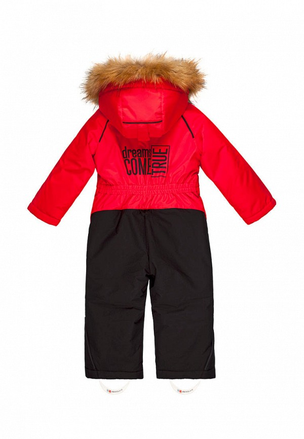 Детский комбинезон утепленный Nikastyle цвет красный  Фото 2