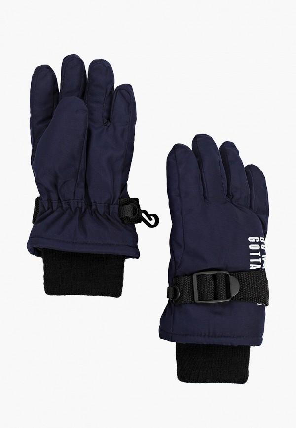 перчатки sela для мальчика, синие