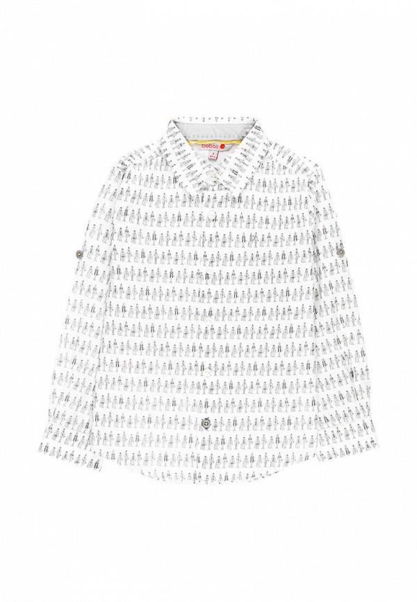 рубашка boboli для мальчика, белая