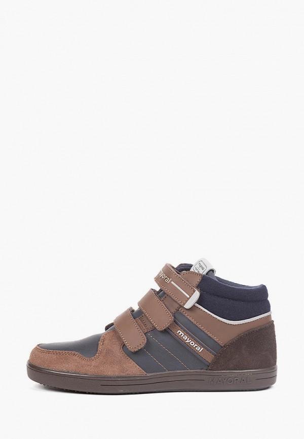 ботинки mayoral для мальчика, разноцветные