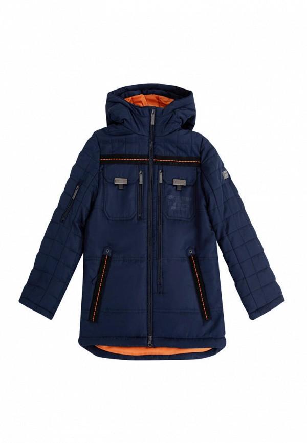 утепленные куртка finn flare для мальчика, синяя