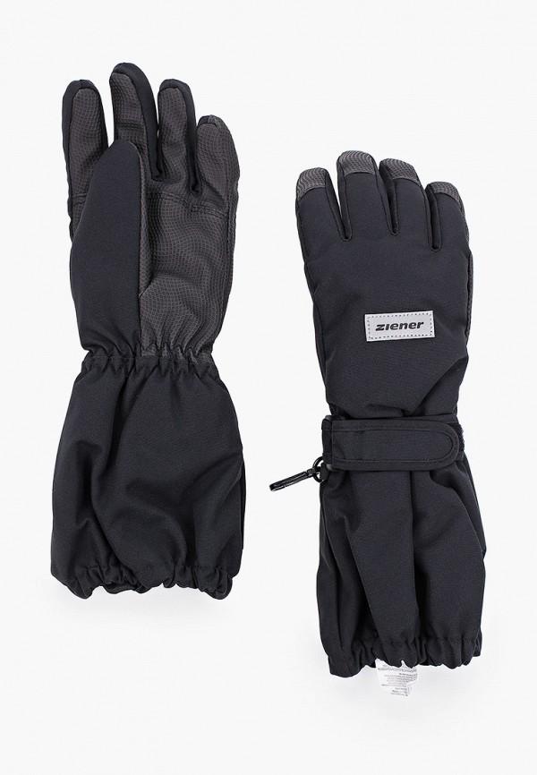 Перчатки горнолыжные Ziener Ziener  черный фото