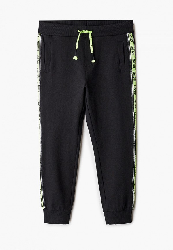 спортивные брюки coccodrillo для мальчика, черные