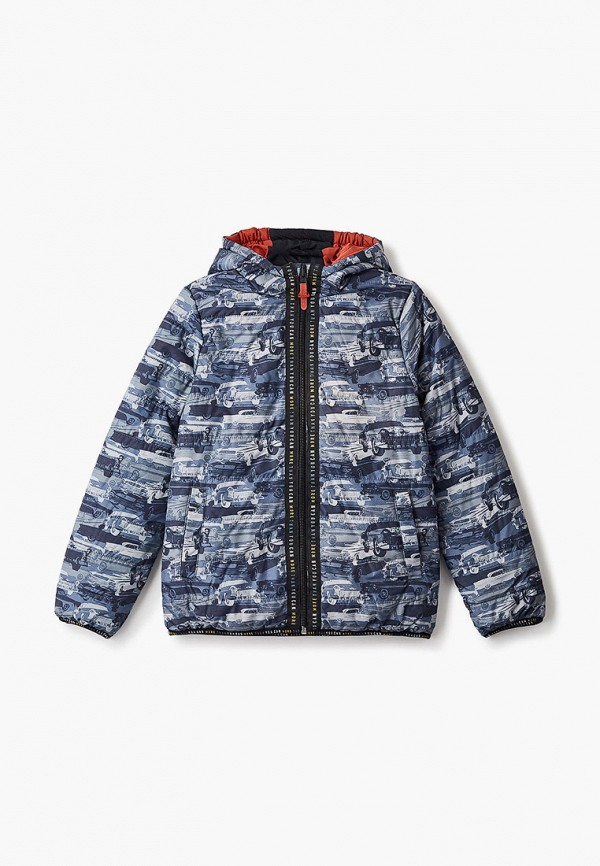 Куртка утепленная Coccodrillo серого цвета