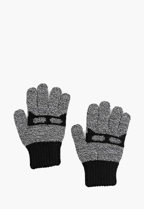 перчатки coccodrillo для мальчика, серые