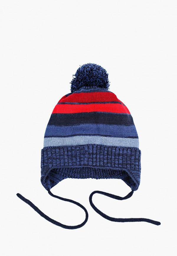 шапка coccodrillo для мальчика, синяя