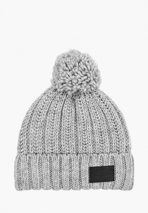 шапка coccodrillo для мальчика, серая