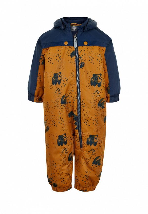 комбинезоны и костюмы color kids для мальчика, оранжевые