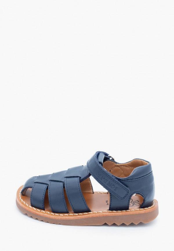 сандалии pom d'api для мальчика, синие