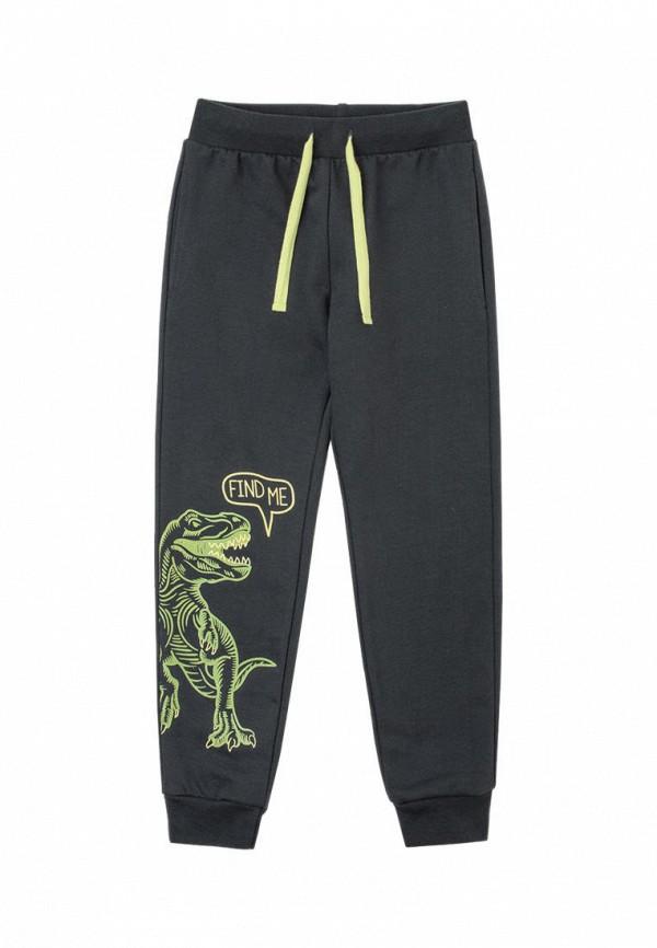 спортивные брюки crockid для мальчика, черные