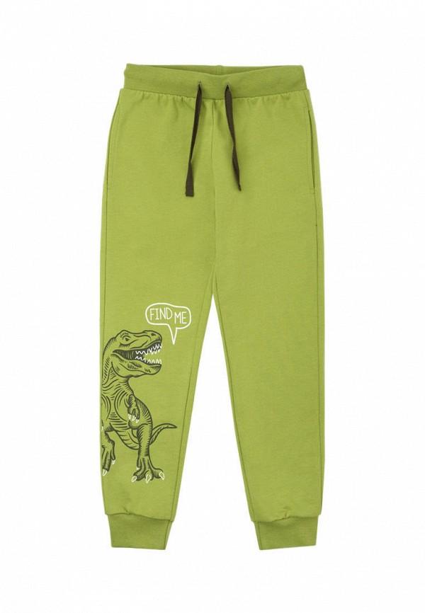 спортивные брюки crockid для мальчика, зеленые