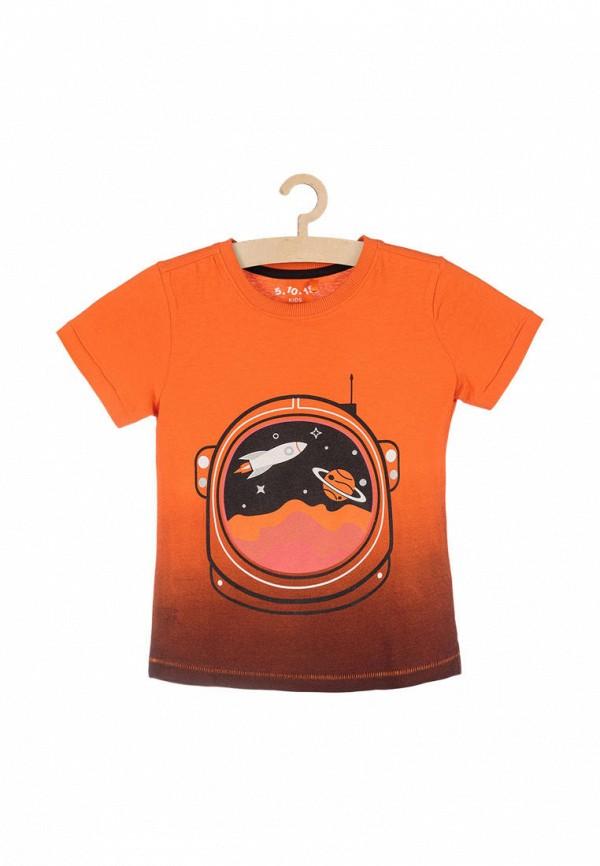 Футболка 5.10.15 5.10.15  оранжевый фото