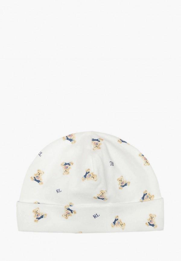 шапка polo ralph lauren для мальчика, белая