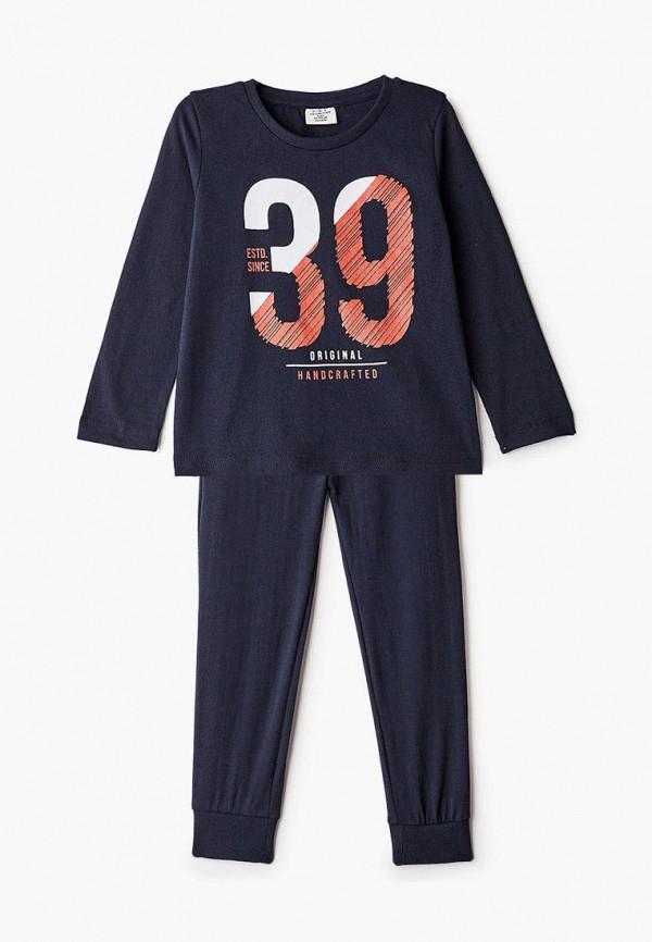пижама defacto для мальчика, синяя