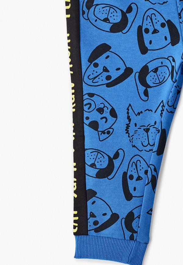 Брюки для мальчика спортивные Coccodrillo цвет голубой  Фото 3