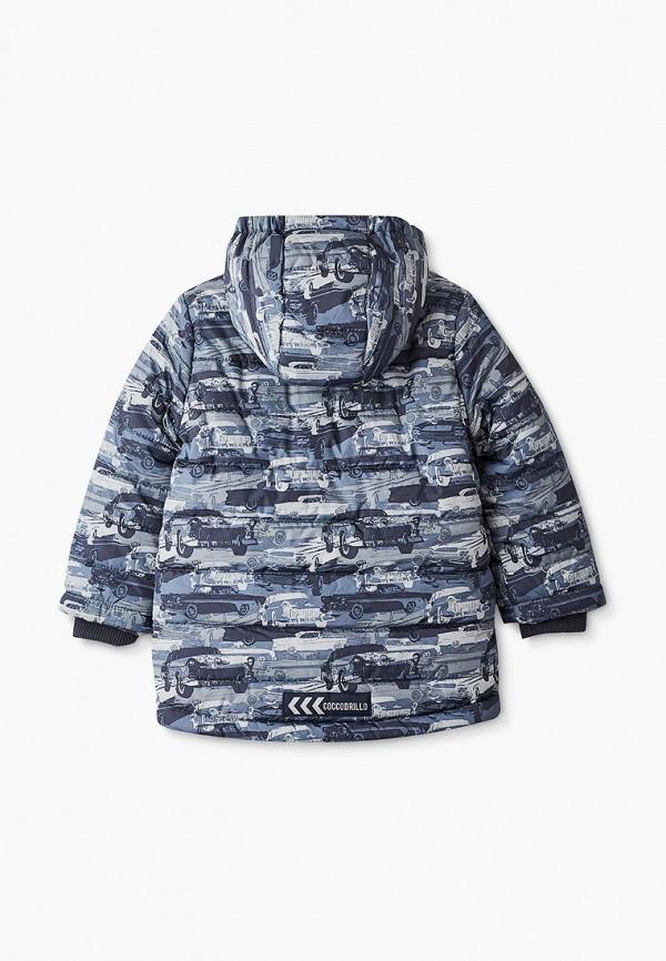 Куртка для мальчика утепленная Coccodrillo цвет серый  Фото 2