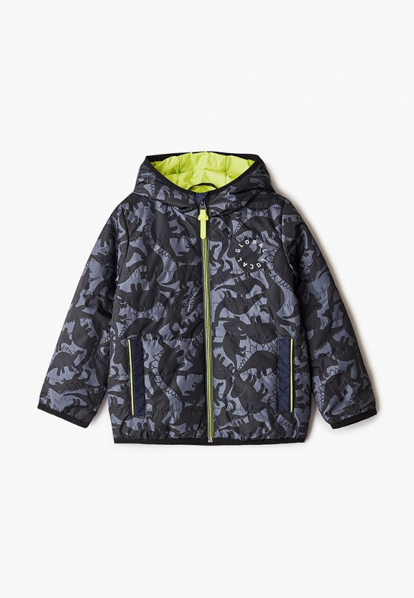 Куртка для мальчика утепленная Coccodrillo цвет серый