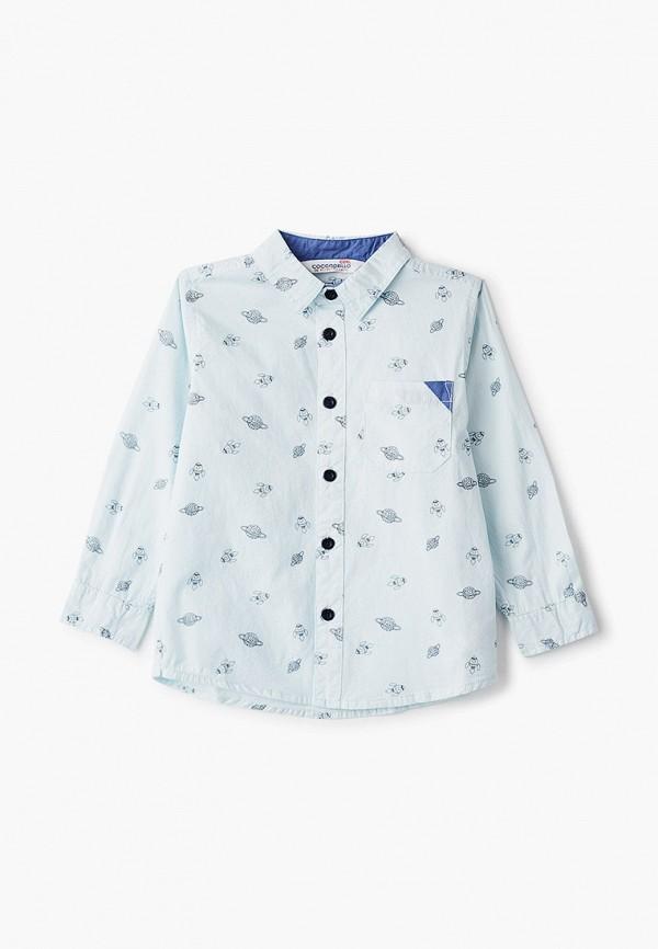 Рубашка для мальчика Coccodrillo цвет голубой