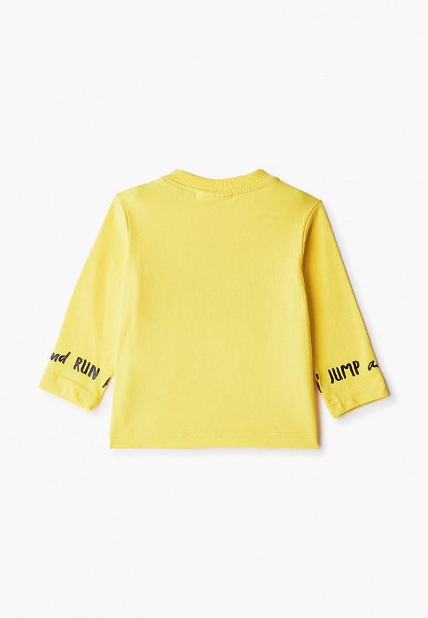 Лонгслив для мальчика Coccodrillo цвет желтый  Фото 2