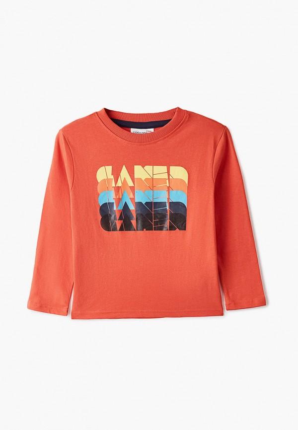 Лонгслив для мальчика Coccodrillo цвет оранжевый