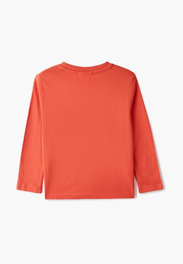 Лонгслив для мальчика Coccodrillo цвет оранжевый  Фото 2