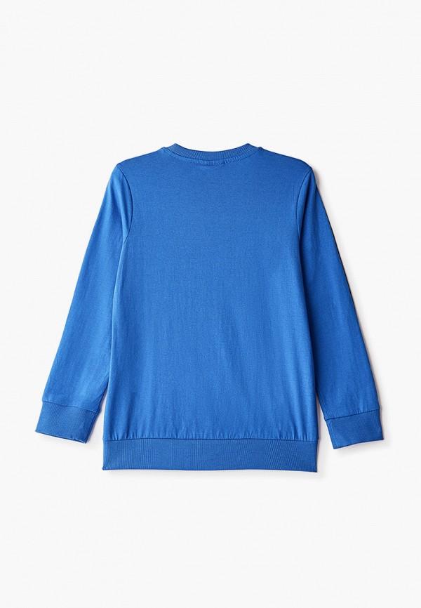 Лонгслив для мальчика Coccodrillo цвет голубой  Фото 2