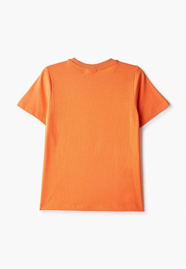 Футболка для мальчика Coccodrillo цвет оранжевый  Фото 2