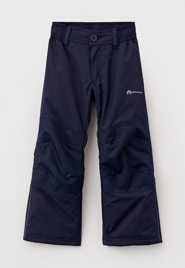 утепленные брюки outventure для мальчика, синие