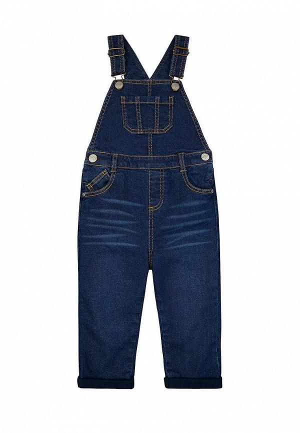 джинсовые комбинезон mothercare для мальчика, синий