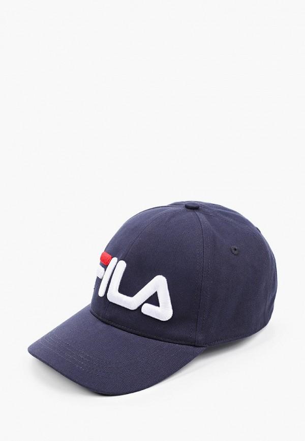 Детская бейсболка Fila цвет синий