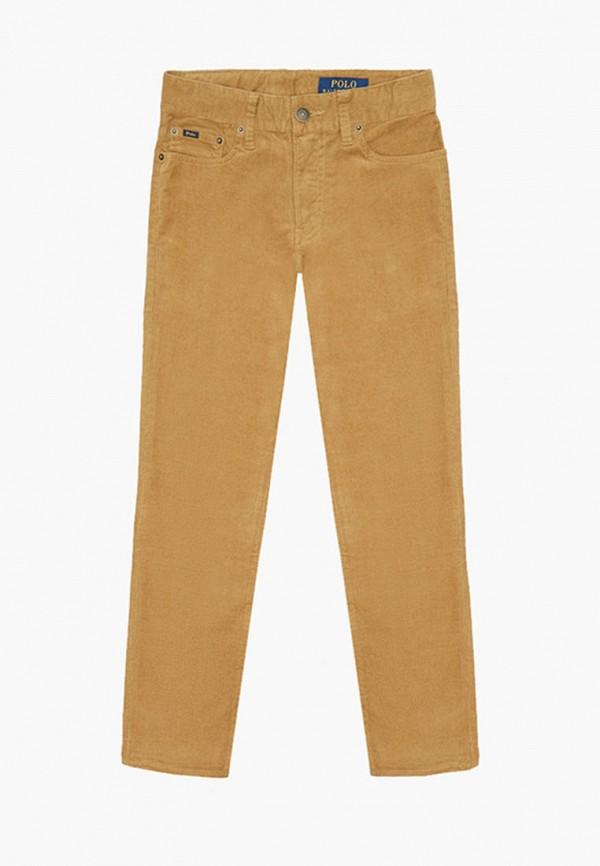 брюки polo ralph lauren для мальчика, коричневые