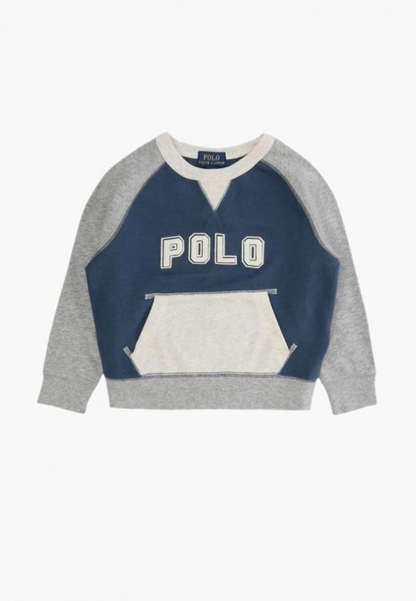 свитшот polo ralph lauren для мальчика, синий