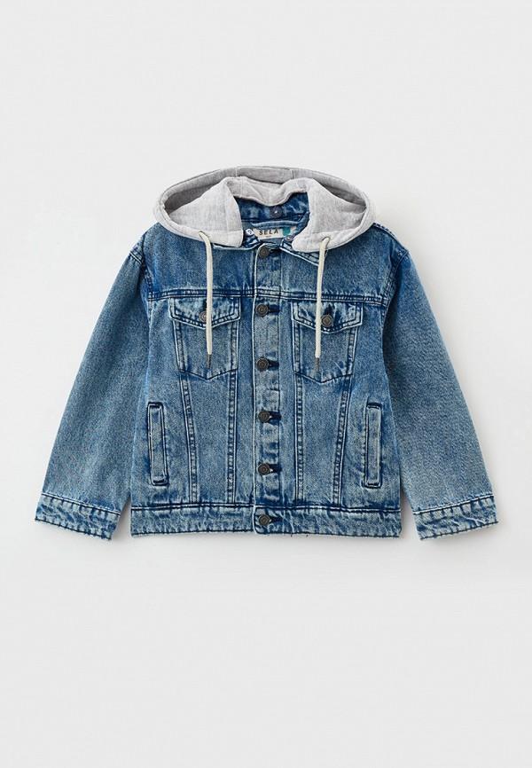 Куртка джинсовая Sela Sela  синий фото
