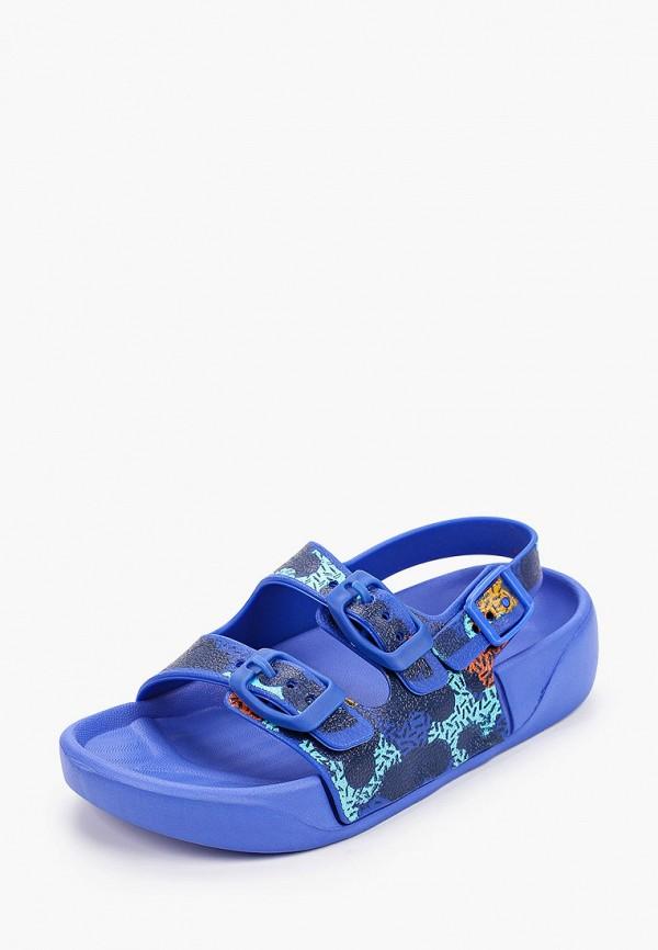 Сандалии для мальчика Coccodrillo цвет синий  Фото 2
