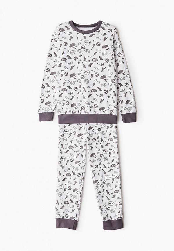 Пижама для мальчика КотМарКот цвет белый